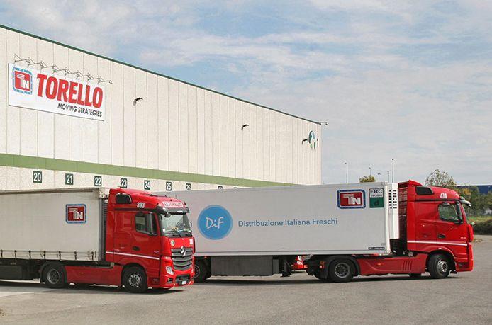 Distribuzione merci in tutta Italia