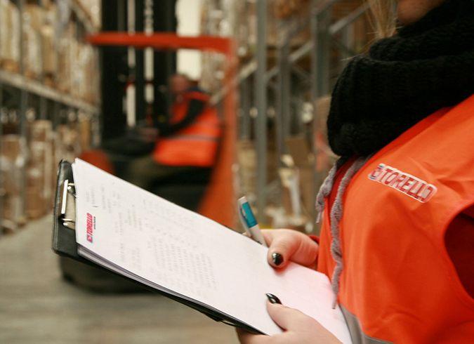 Servizi logistici per i capi di abbigliamento