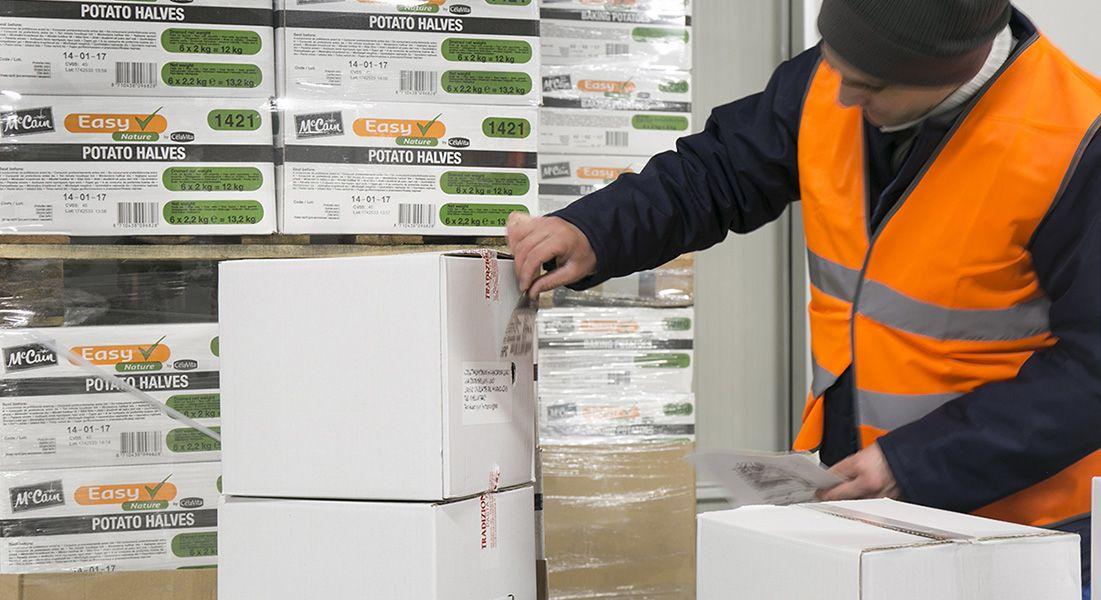 Logistica per prodotti freschi