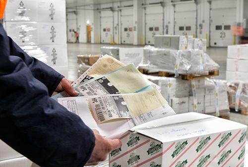 Logistica per prodotti freschi, surgelati, congelati