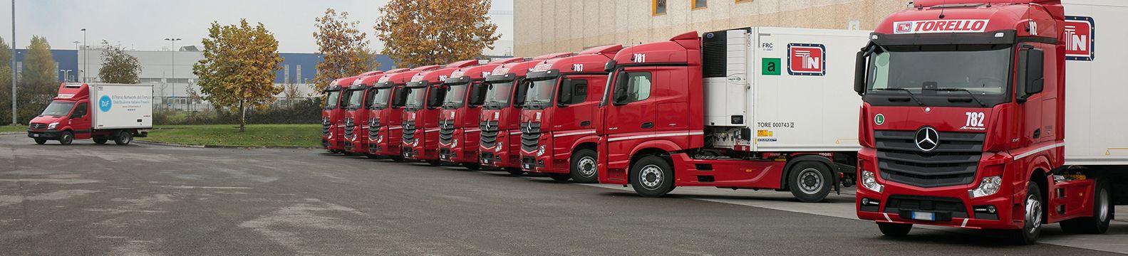 Trasporto merci in Italia e in Europa